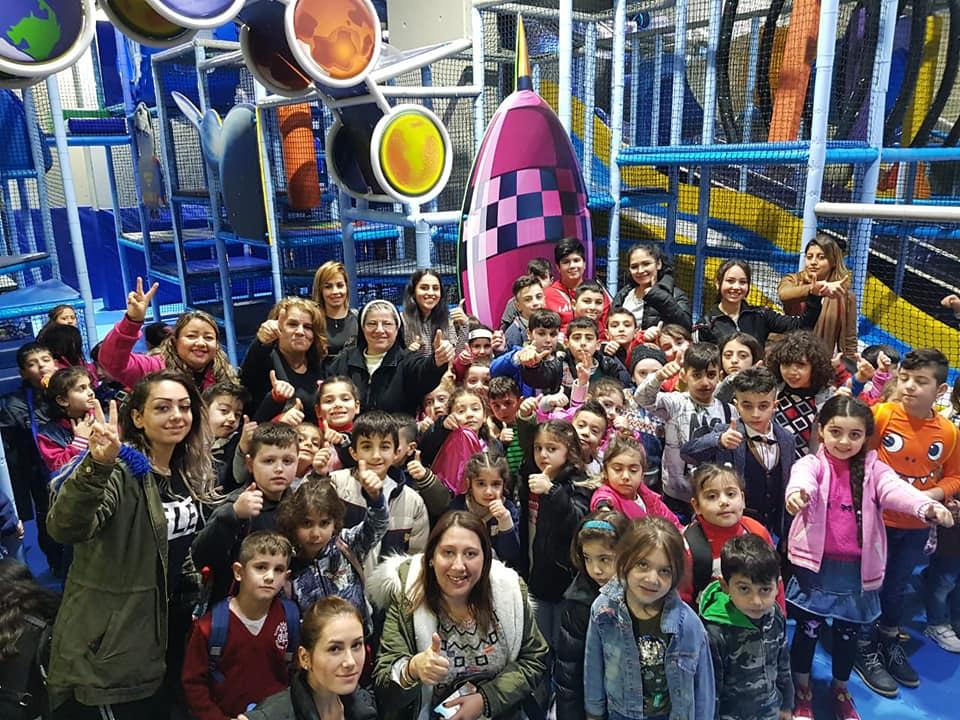 رحلة ترفيهية لطلاب مركز مار توما التربوي