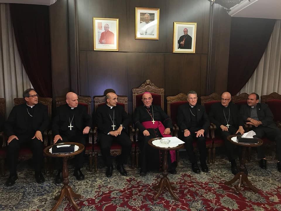 زيارة وفد من أساقفة أميركا في زيارة لأبرشية بيروت الكلدانية