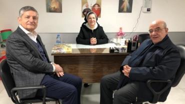 زيارة الاستاذ فيليب بيداويد مركز سيدة الرحمة الالهية