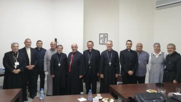 الاجتماع الدوري لمجلس البطاركة والاساقفة الكاثوليك