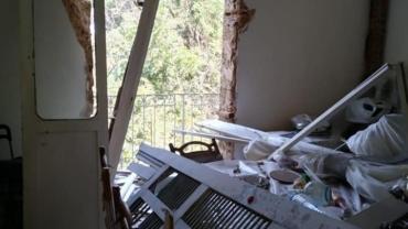 زيارة العائلات الكلدانية المتضررة من جراء الانفجار