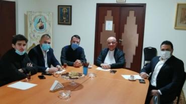 جمعية القديسة رفقا للأمل والرحمة تزور مطرانية بيروت الكلدانية