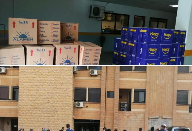 أبرشية بيروت الكلدانيّة توزع حصصاً غذائية