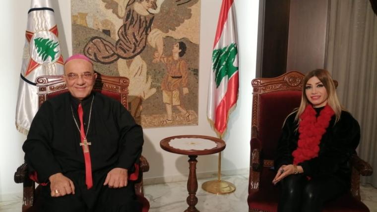 المطران قصارجي لتيلي لوميار: زيارة البابا فرنسيس محطة مفصلية في تاريخ العراق ولبنان