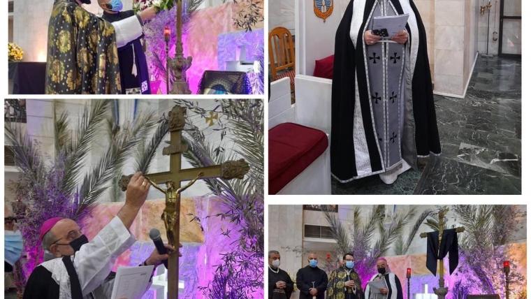 المطران قصارجي يحتفل برتبة الجمعة العظيمة