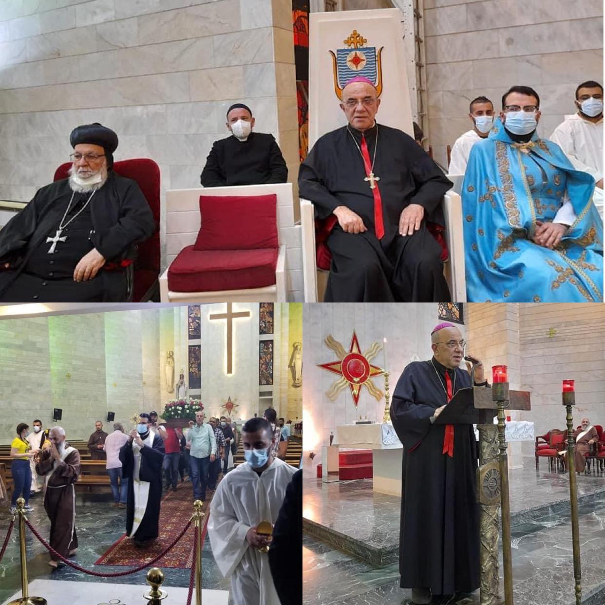 ذخيرة من زنّار العذراء تزور كاتدرائية الملاك رفائيل