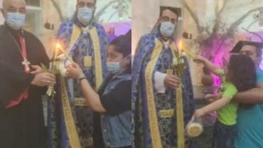 القداس الإلهي بمناسبة افتتاح الشهر المريمي