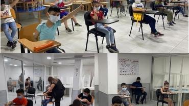 طلاب مركز مار توما الرسول التربوي يتنفسون  الصعداء