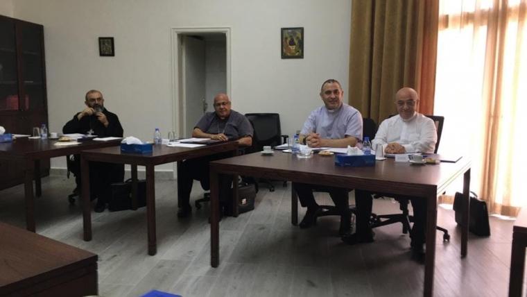المطران قصارجي يشارك في اجتماع اللجنة التنفيذية لمجلس البطاركة والاساقفة الكاثوليك