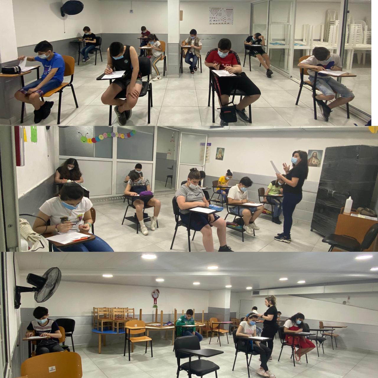 انتهاء الامتحانات في مركز مار توما الرسول التربوي